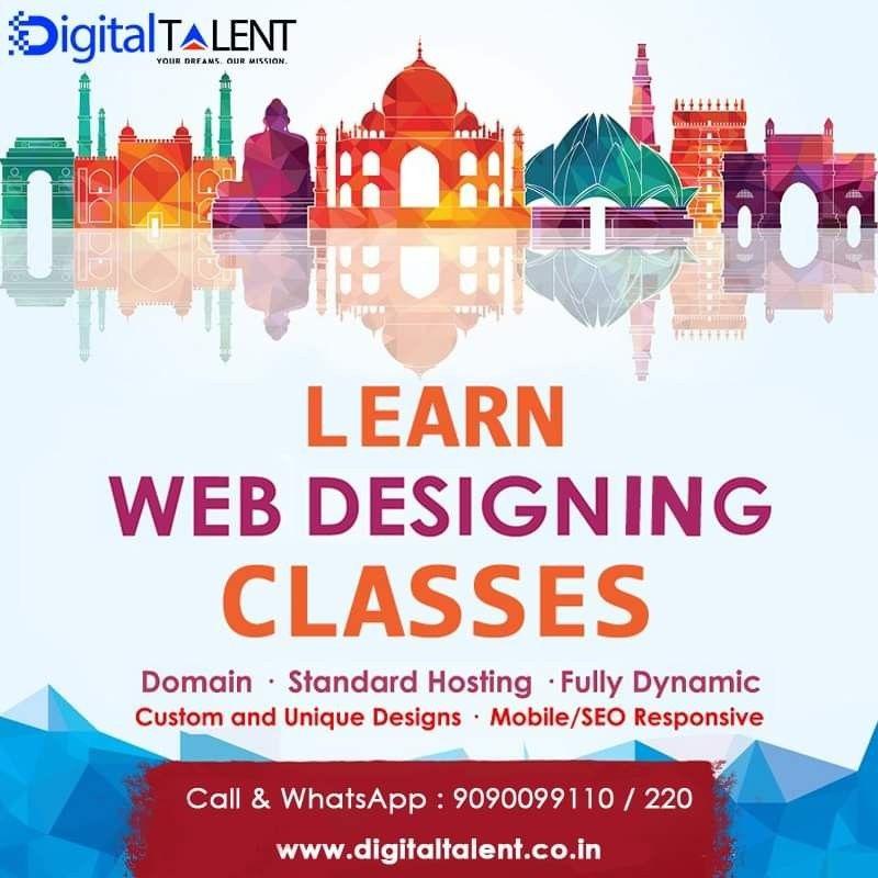Best Web Designing Training Institute In Bhubaneshwar Web Design Training Digital Talent Web Design