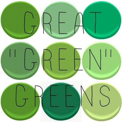 38 Best Paint Color Schemes Celery Green Images On: GOING GREEN – PART I