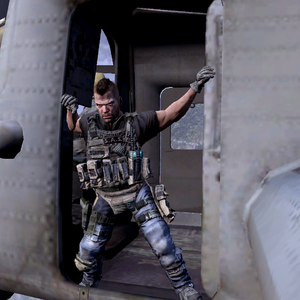 Soap In Pave Low Png Call Of Duty Modern Warfare Character