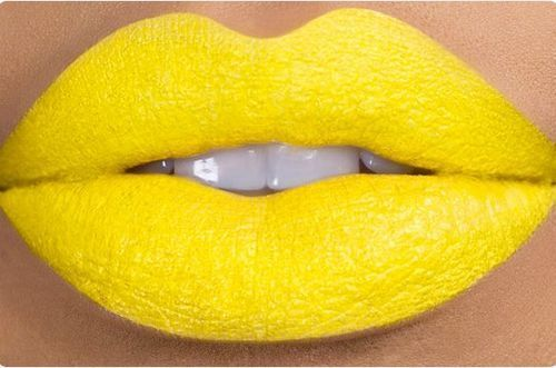 Yellow Lips Who Want Yellow Yellow Lipstick Yellow Color