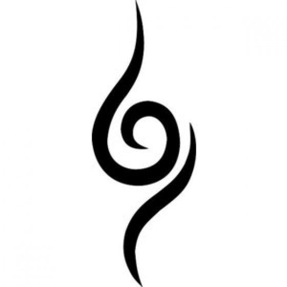 naruto anbu temporary tattoo by thecaffeinatedrose on etsy