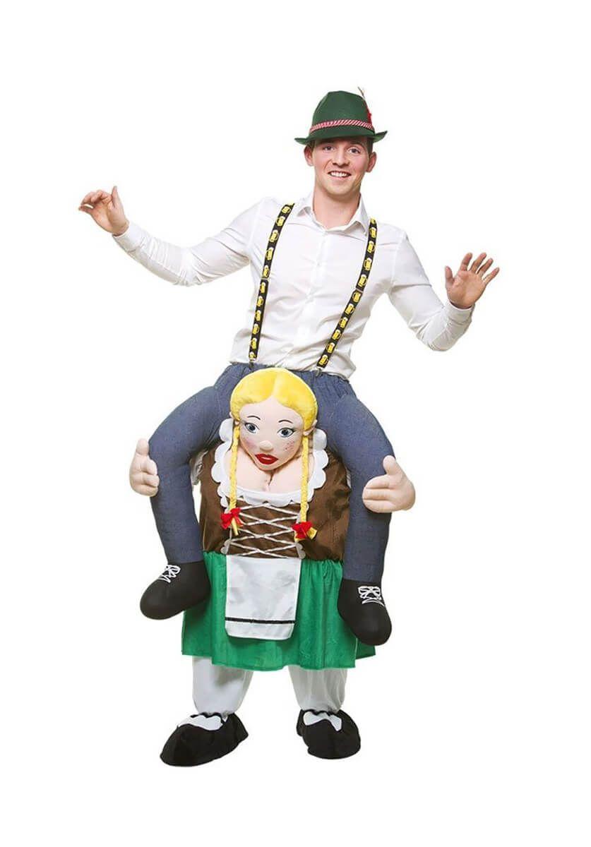 Carry Me Oktoberfest Girl Costume   Funny At Escapade™ UK