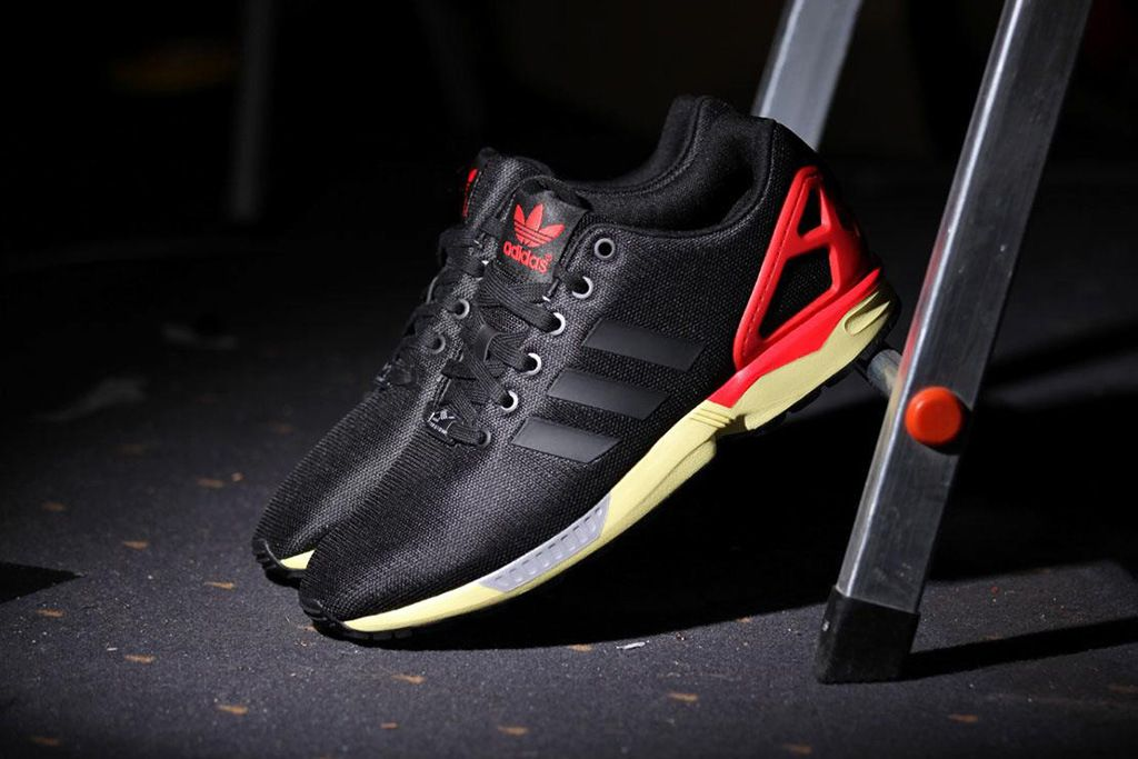Adidas Flux Black Red