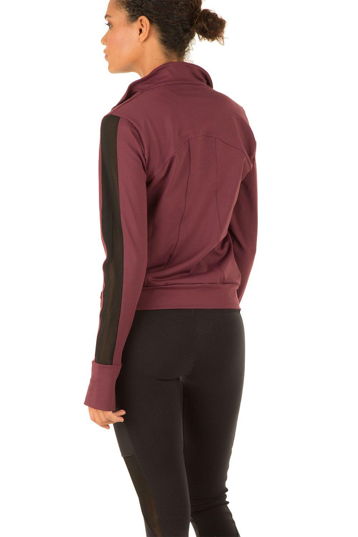 Jacket Sue | burgundy