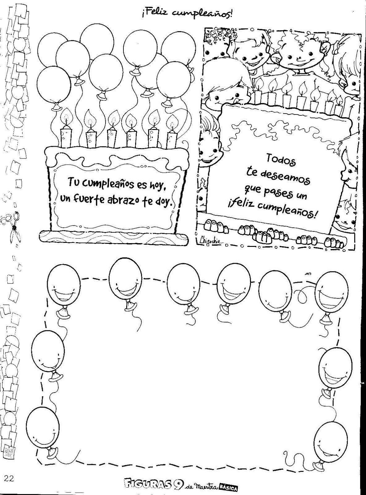 Cumpleaños.. | Birthday at school... | Pinterest | Cumpleaños ...
