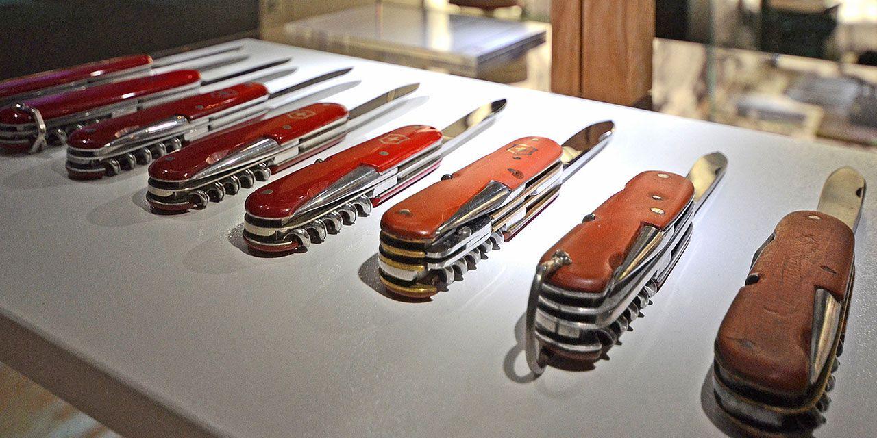 Make Your Own Swiss Knife Victorinox Museum In Brunnen