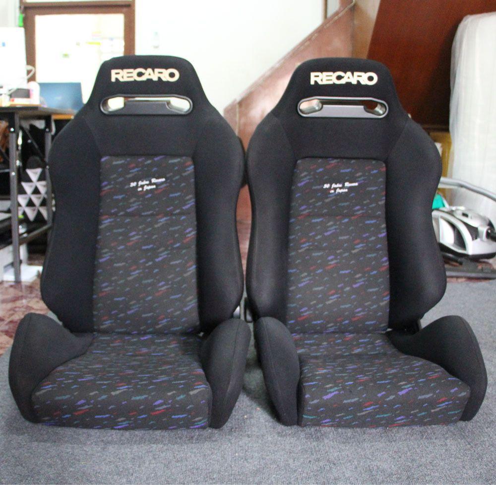 Recaro Racing Car Seat >> 2 Jdm Recaro Sr3 30th Conffiti Ltd Seat Racing Porsche Eg Ek