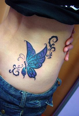 mariposa azul y violeta tatoo tatoos and tattos. Black Bedroom Furniture Sets. Home Design Ideas