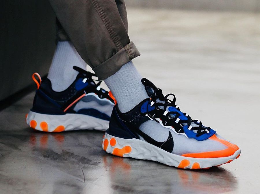 30cc05b1ede6 nike react element 87 orange total (2018)