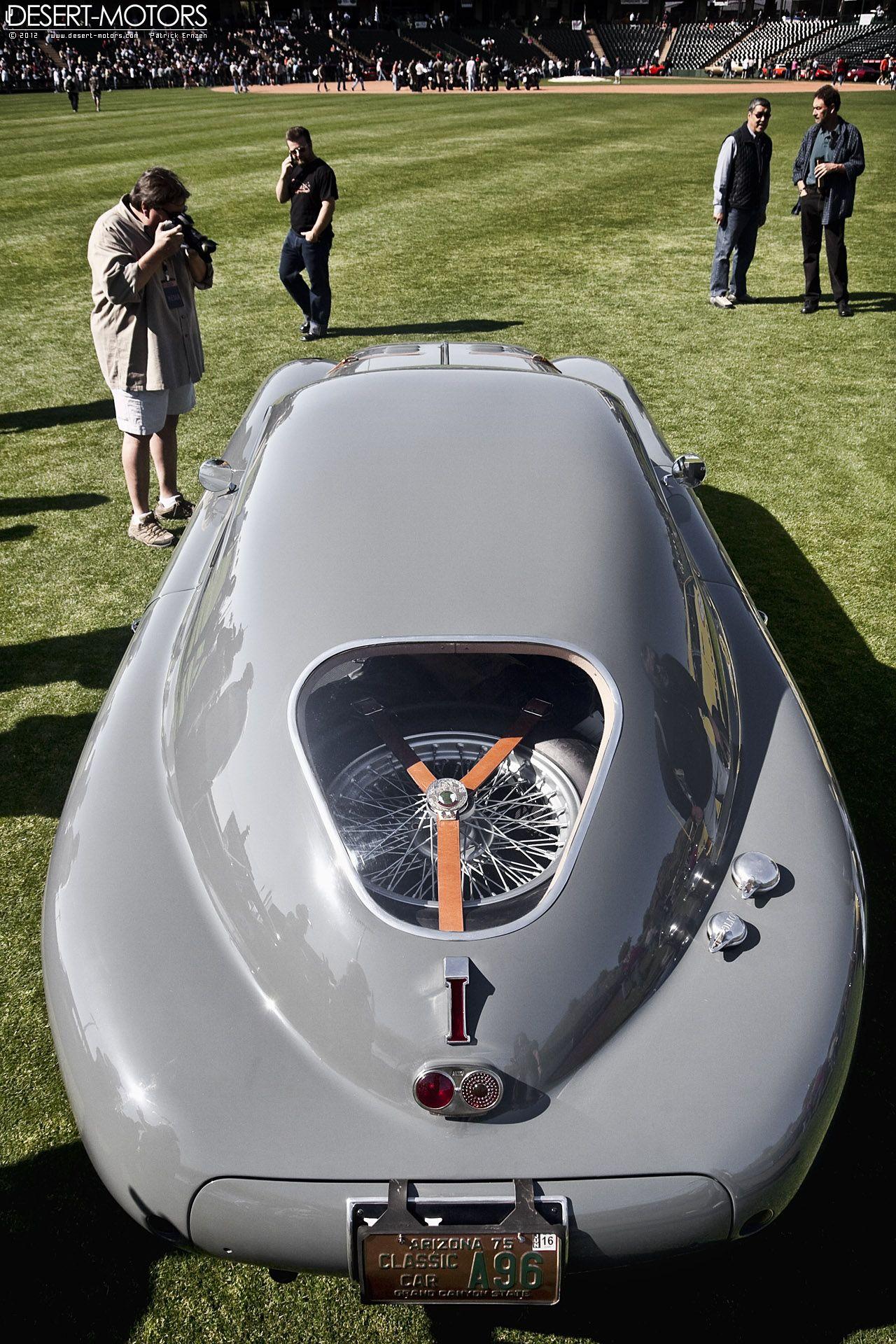 1942 Alfa Romeo 6C 2500 SS Berlinetta Aerodynamica