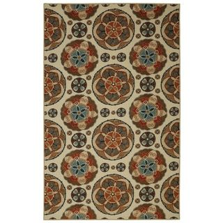 """Shop for Mohawk Home Soho Spice Suzani Multi (7'6"""" x 10'). Get free shipping at Overstock.com - Your Online Home Decor Outlet Store! Get 5% in rewards with Club O!"""