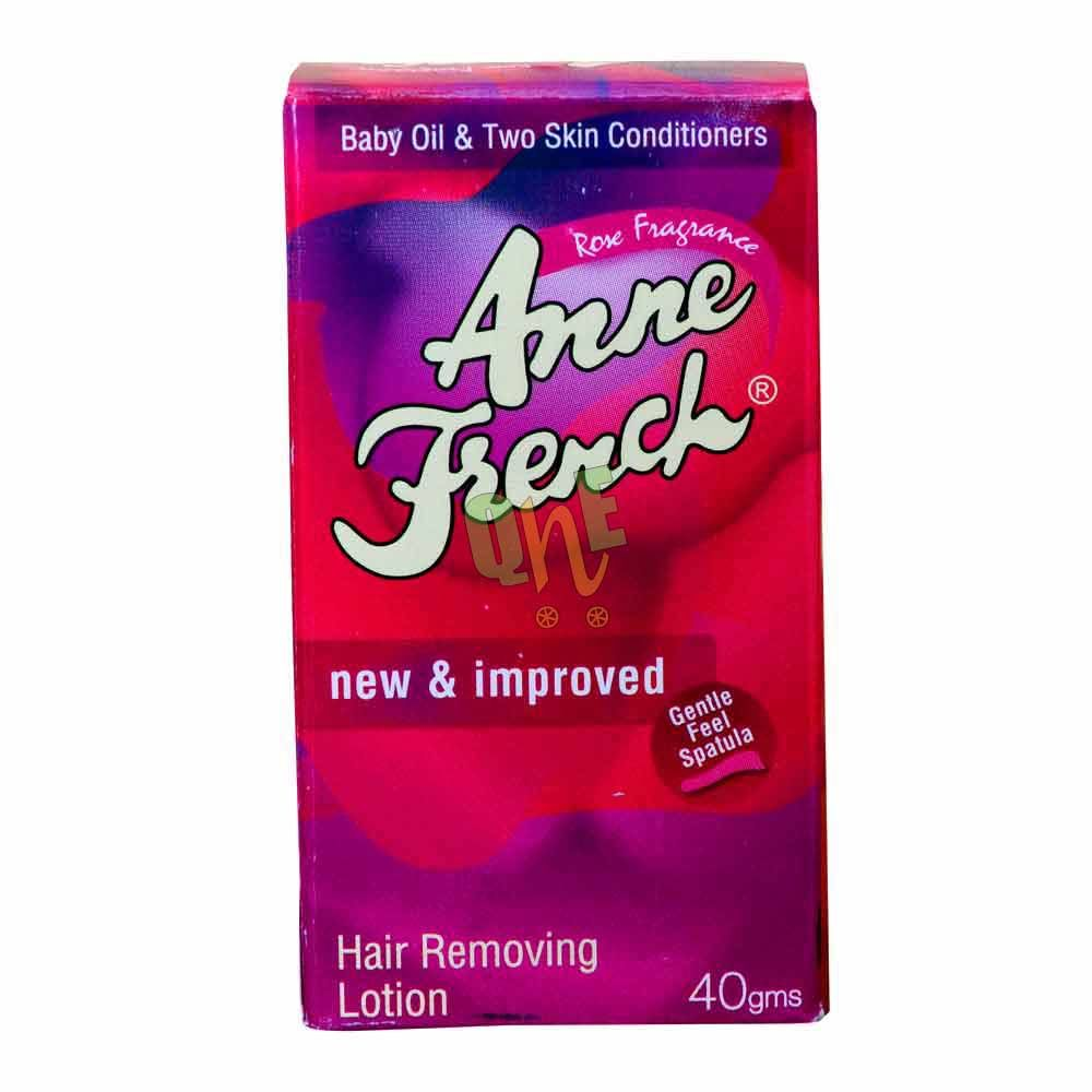 Anne French Hair Removal Lotion Rose Quickneasy French Hair