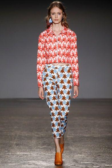 Sfilata Au jour le jour Milano - Collezioni Primavera Estate 2016 - Vogue