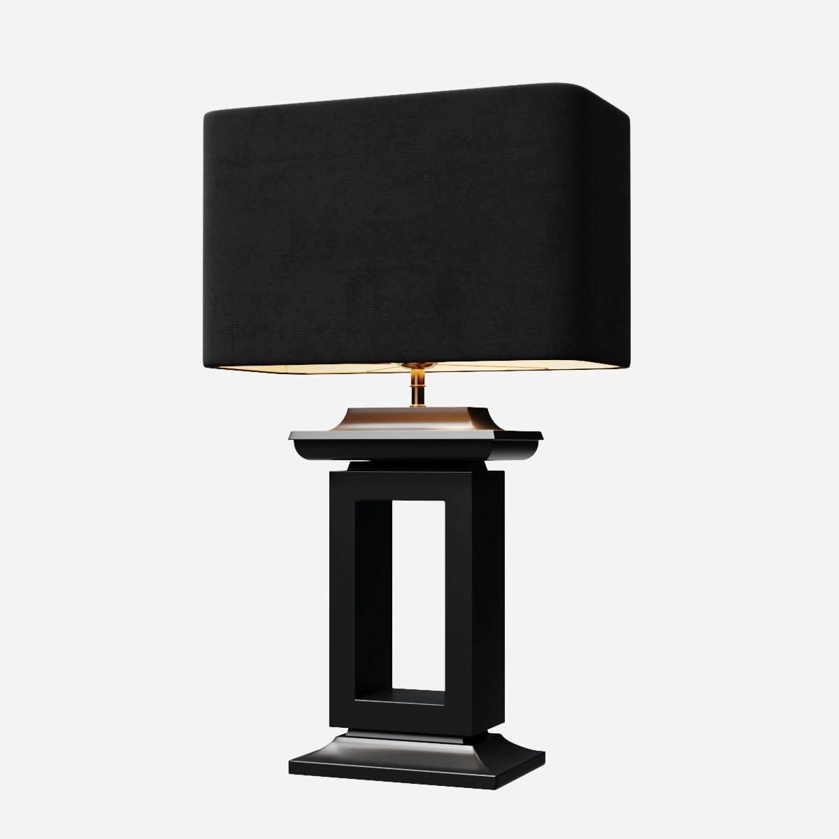 Eichholtz Table Lamp Mandarin 3d Model In 2020 Lamp 3d Model Table Lamp