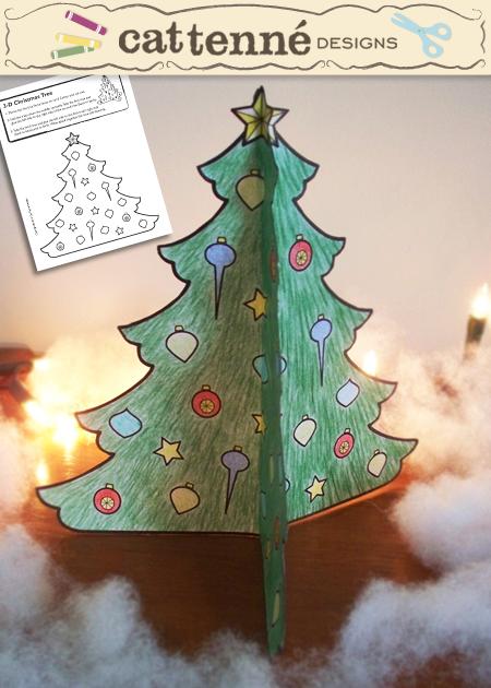 3-D Christmas Tree craft