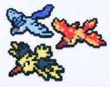 Légendaire Pokemon Hama Perler Bead Sprites Porte Clé