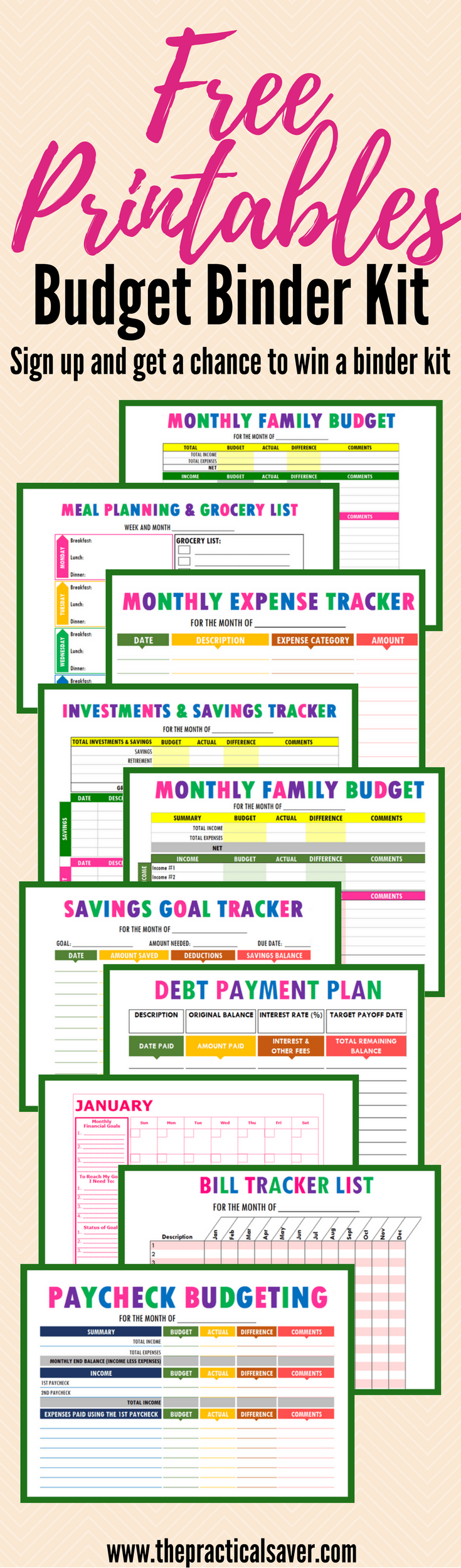 budget binder printables frugal living ideas money saving tips