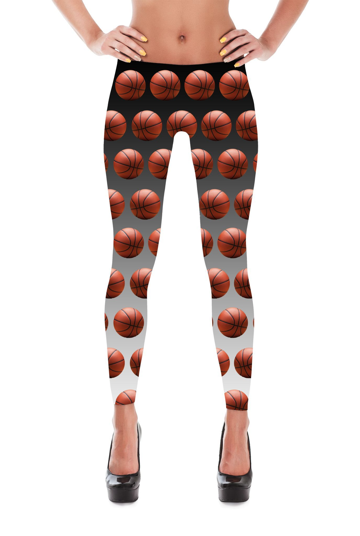 Basketball Leggings - Basketball print Leggings - Basketball Costume - Sport Leggings - NBL leggings