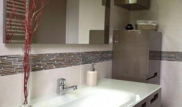 D co salle de bain frise sale de bain pinterest deco for Frise murale salle de bain