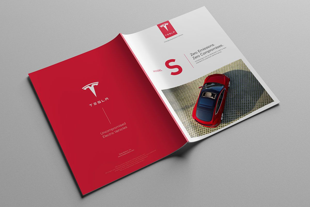 Tesla Model S Catalog on Behance | 拉丁语系 | Tesla motors