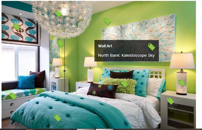 green - blue - brown - white Home! Bedroom, Room, Girls bedroom