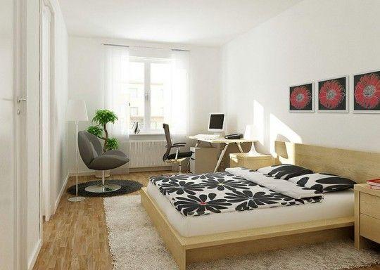 Image result for chambre bureau même pièce decoration