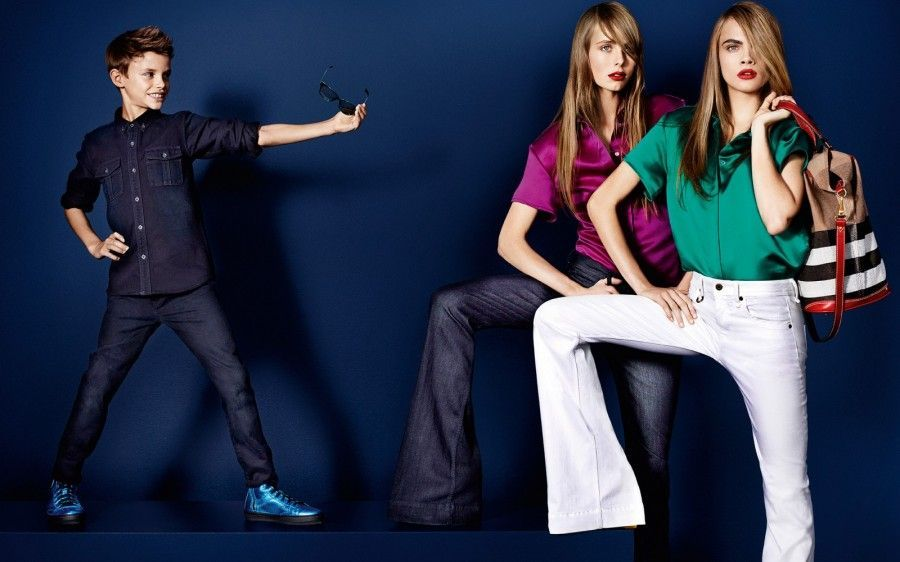 Esta mañana recorriendo la boutique Burberry Antara, descubrimos la Burberry Brit new Denim Collection, ¡imperdible!