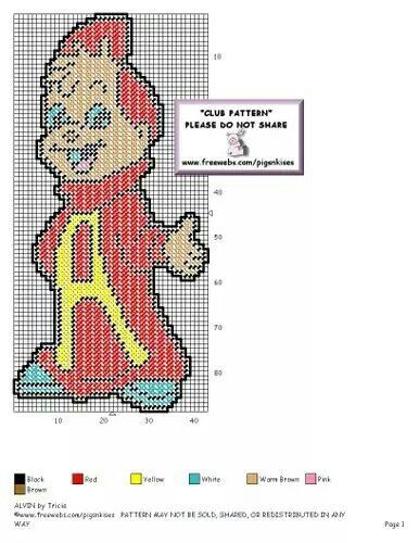 ALVIN by TRICIA - CHIPMUNK WALL HANGING