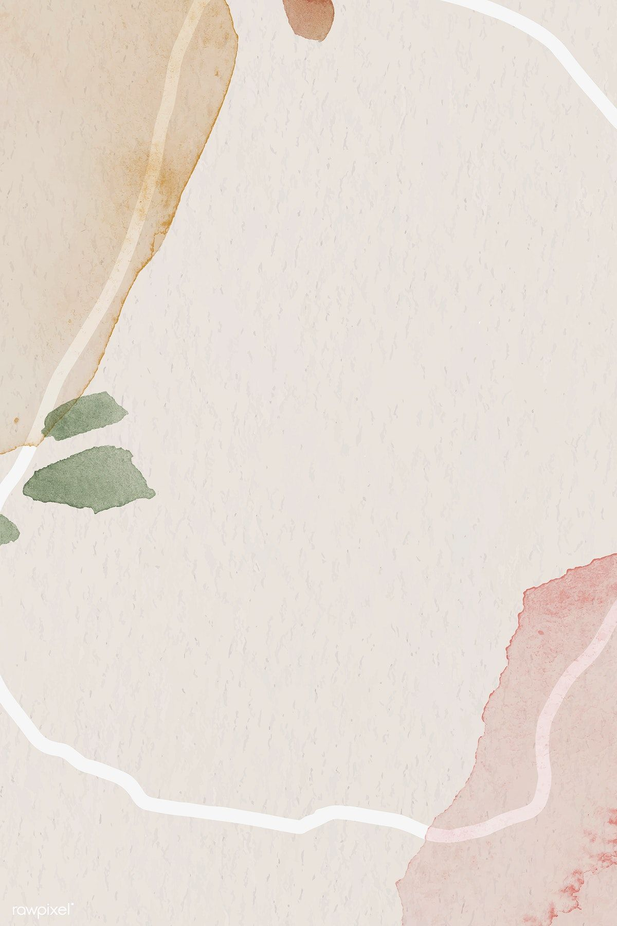 Download Premium Vector Of Pink And Brown Watercolor Patterned Background In 2020 Watercolor Pattern Background Watercolor Pattern Background Patterns