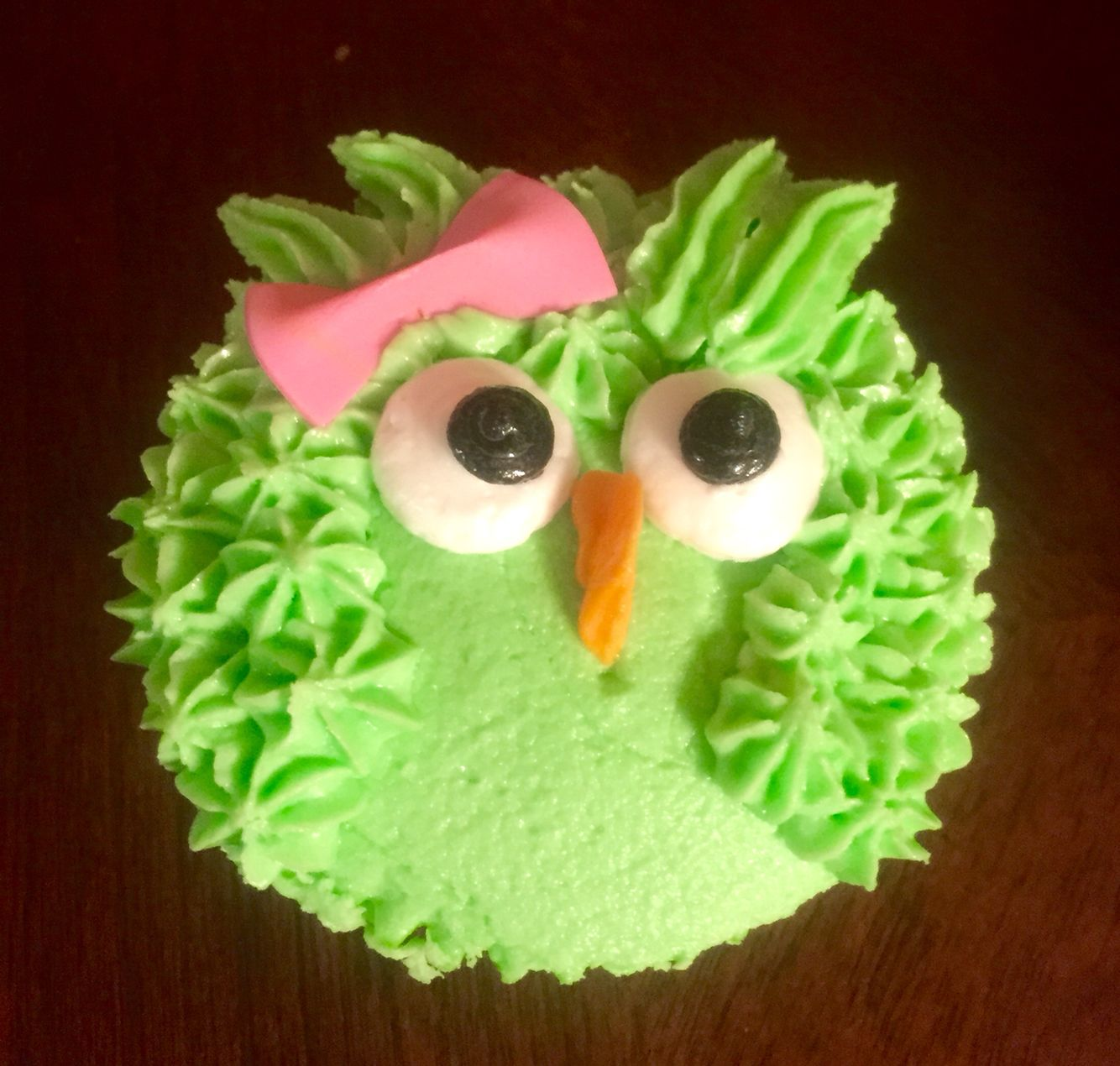 Baby Owl cupcakes