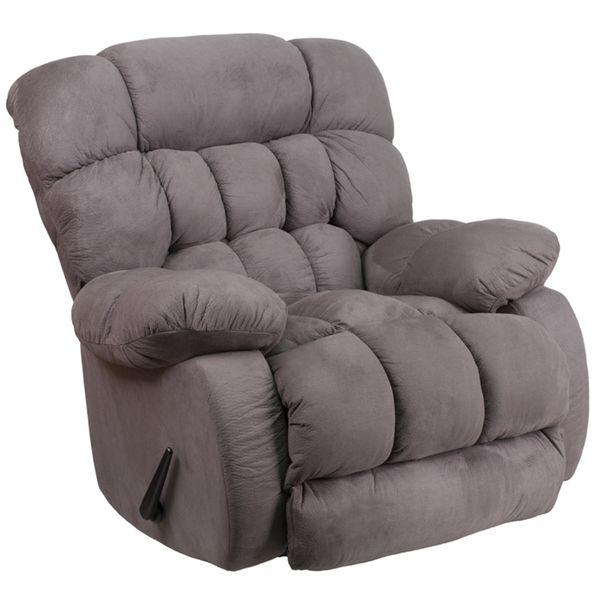 Sofa Sleeper Flash Furniture Microfiber Rocker Recliner The oh so fy Flash Furniture Microfiber Rocker Recliner is overstuffed to bring maximum fort home