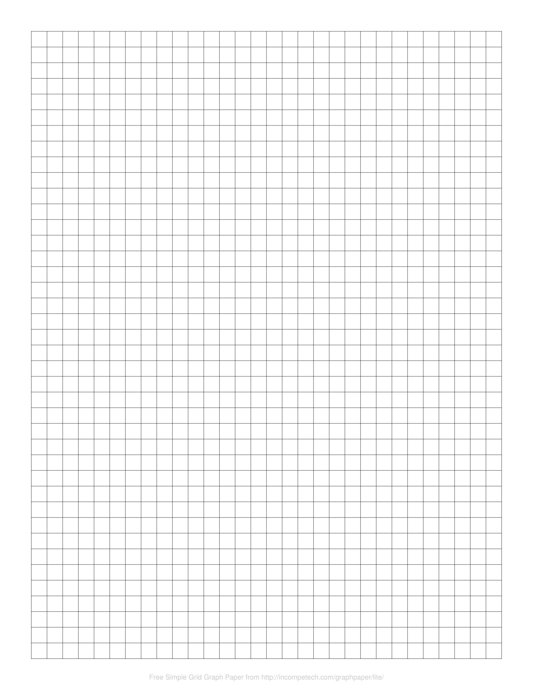Free Graph Paper Online Printable