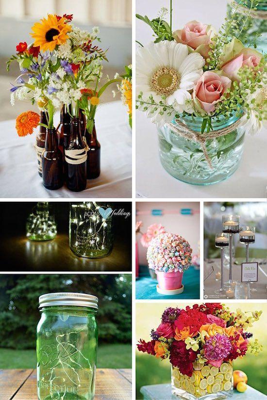 Centros de Mesa para Bodas en Verano las Ideas más Top! boda - centros de mesa para bodas