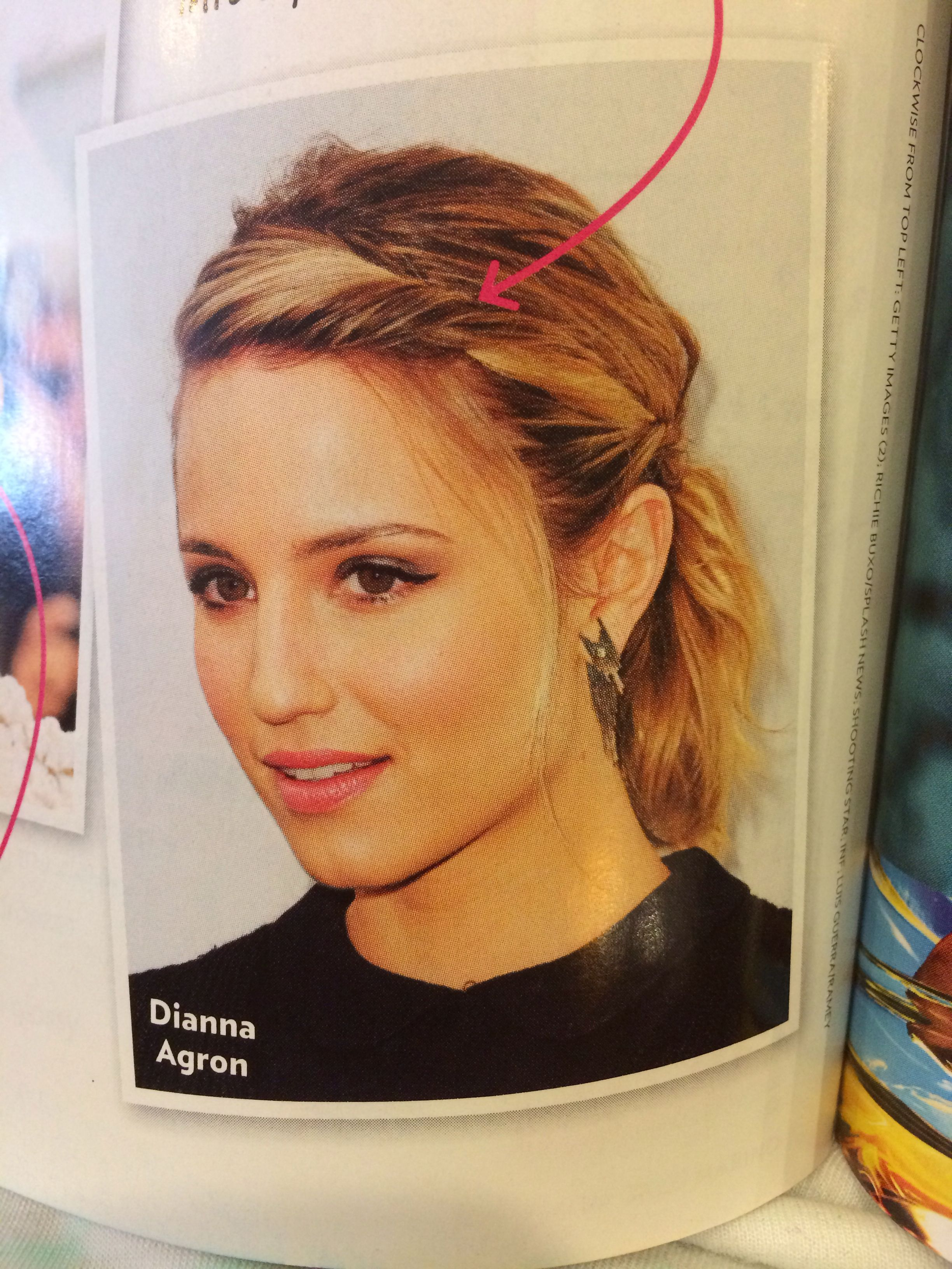 pin on hair/make up