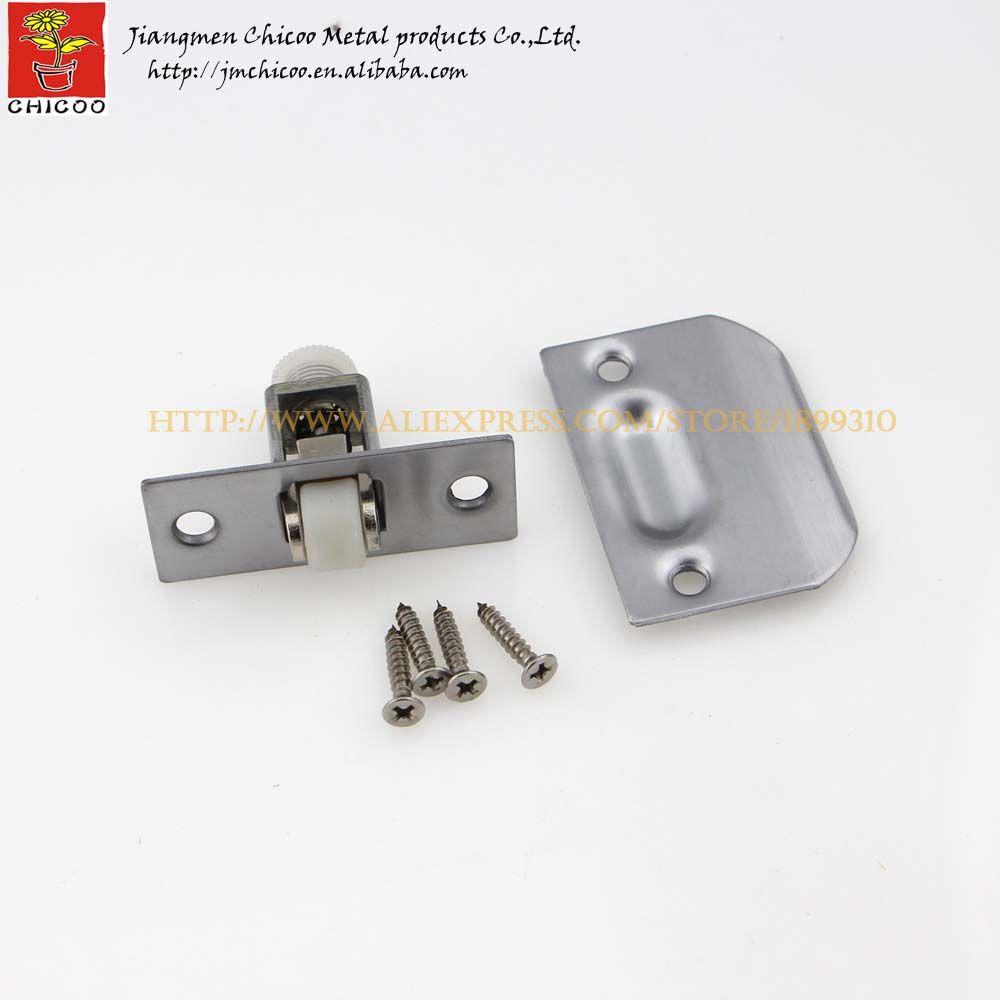 1piece Stainless Steel Zinc Alloy Plastic Door Ball Catchcloset