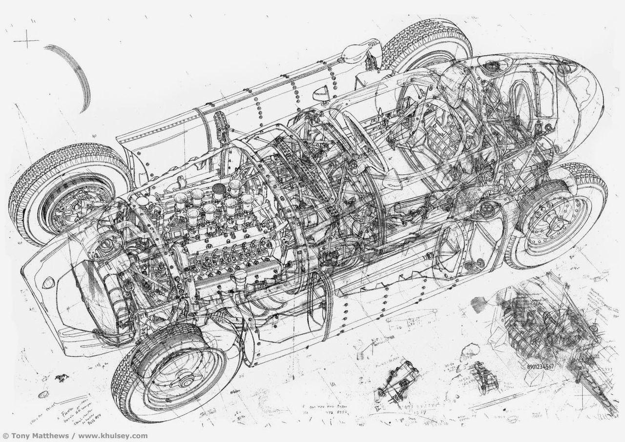 race car | Technical Illustration | Pinterest | Technical ...