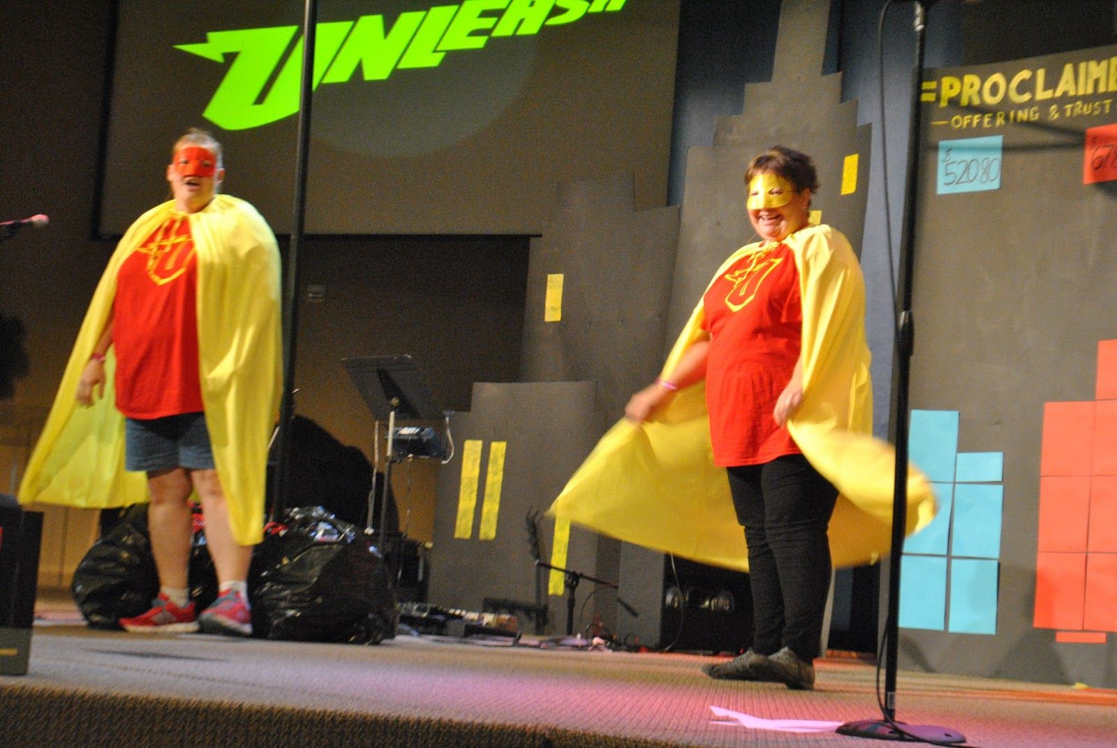 Classroom Skit Ideas : Superhero vbs for the skit at beginning and