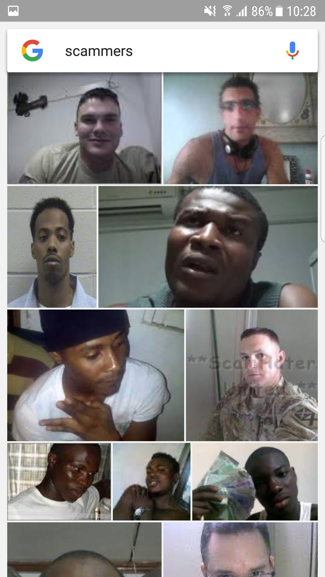 Scammers | scammers are bad | Scammer pictures, Military photos