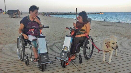 Handiwheel Coma Power Wheelchair Accesories Accesorio A Motor Para Sillas De Ruedas Www Handiwheel Powered Wheelchair Wheelchair Accessories Transportation