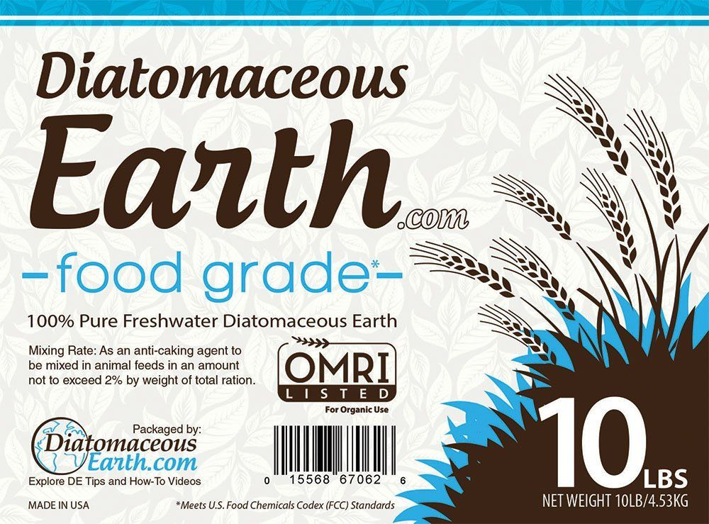Diatomaceous Earth Food Grade 10 Lb Patio