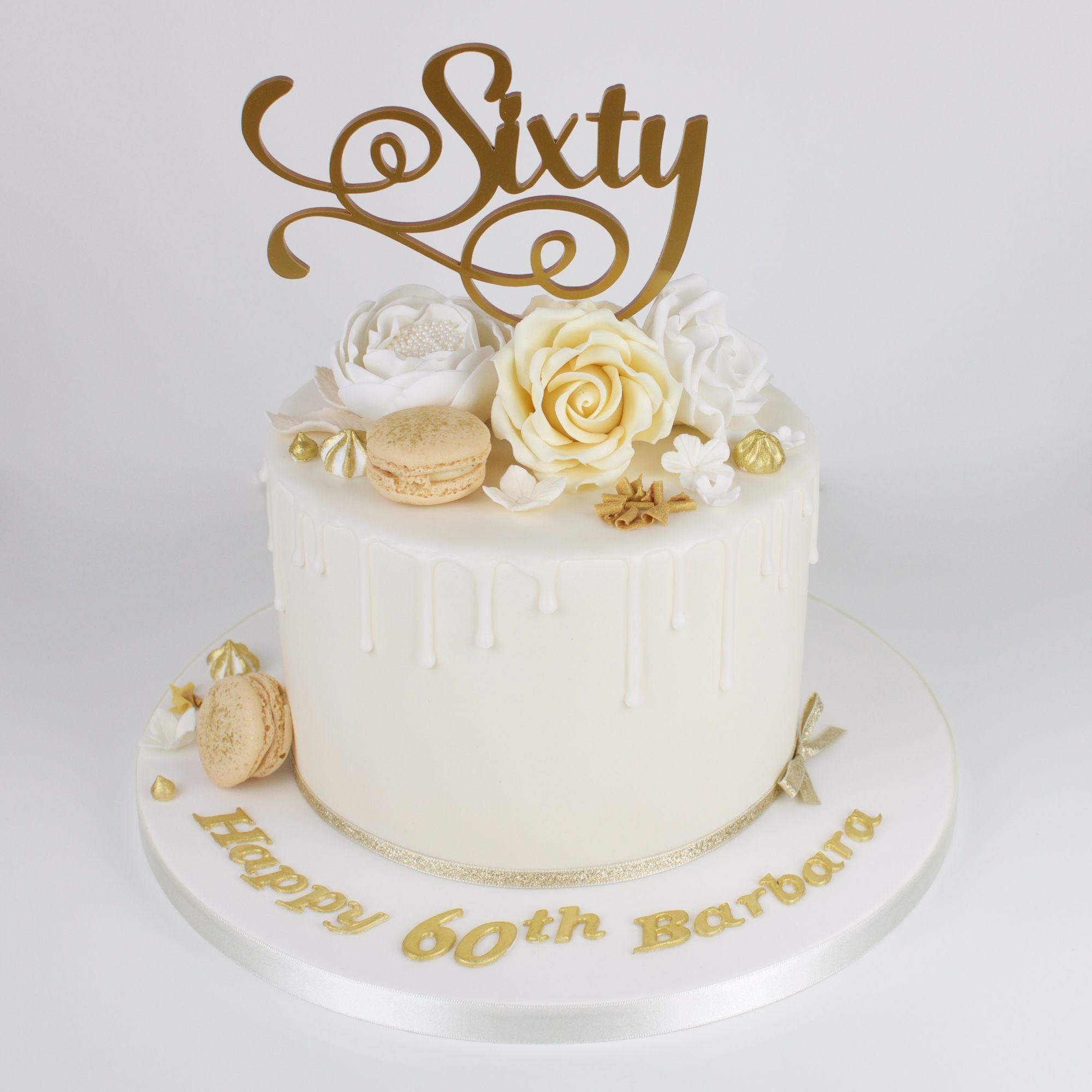Celebration cakes   60th birthday cake for mom, 60th ...