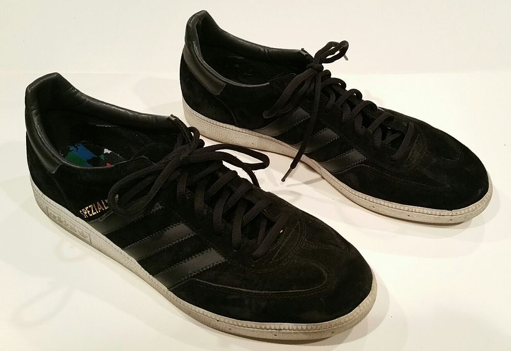 Adidas Spezial Handball Suede Sneakers Shoes Men 039 s Size 13 Black D65447  casual