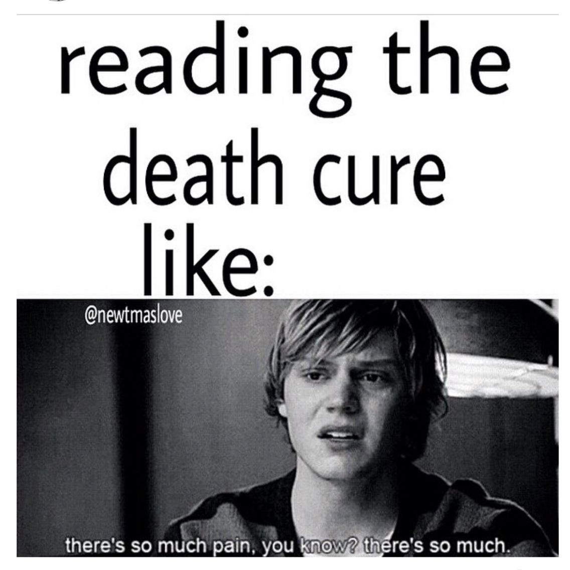 Speak Quotes And Page Numbers: ⬅️ Me While Reading Death Cure. WE DO NOT SPEAK OF PAGE