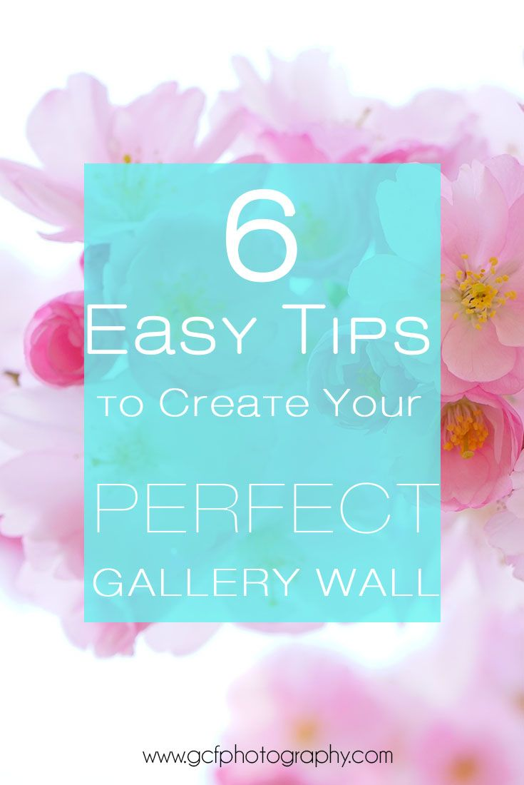 Gallery wall tips and easy home decor styling help get a free art