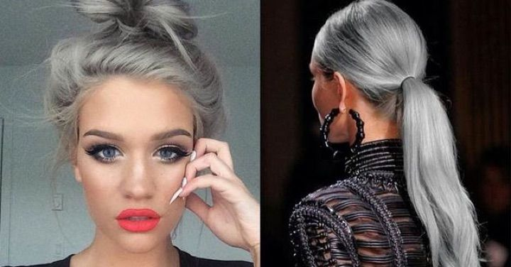 Would You Dye Your Hair Grey
