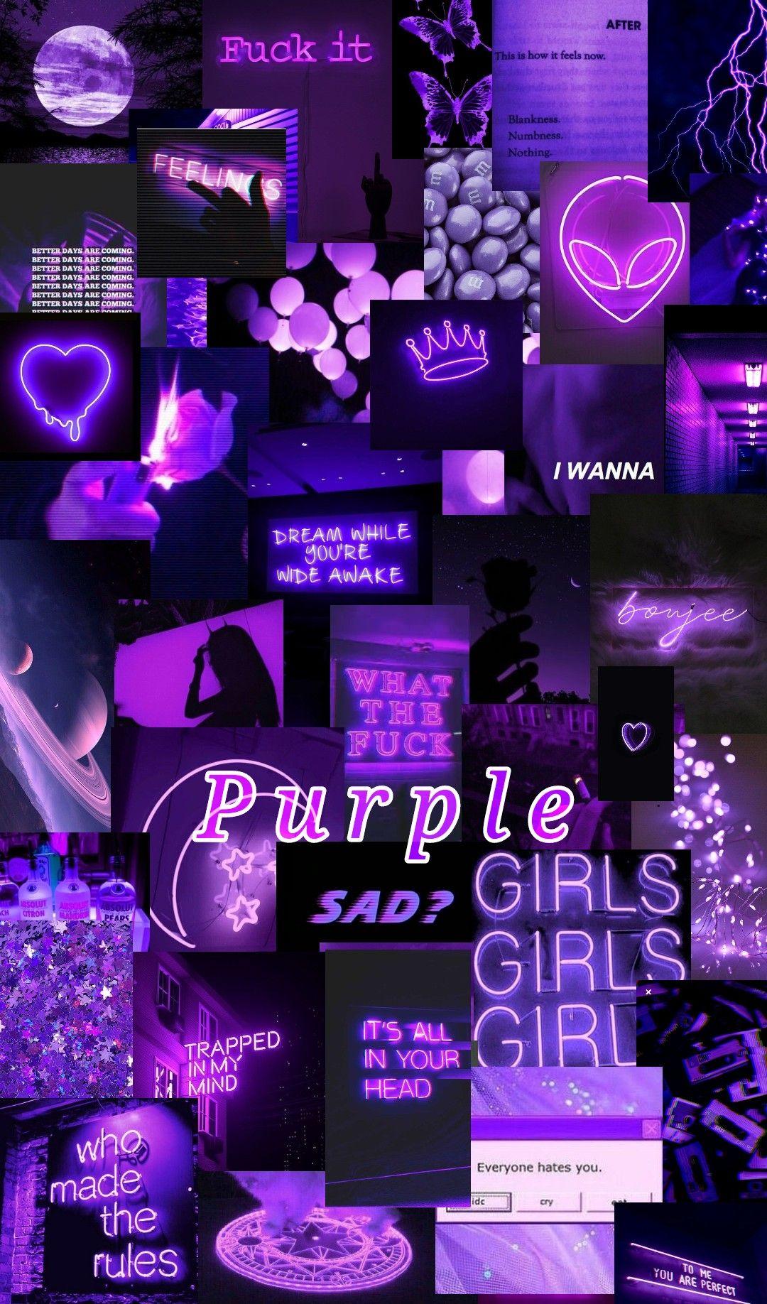 Purple Purple Wallpaper Iphone Iphone Wallpaper Tumblr Aesthetic Iphone Wallpaper Vintage