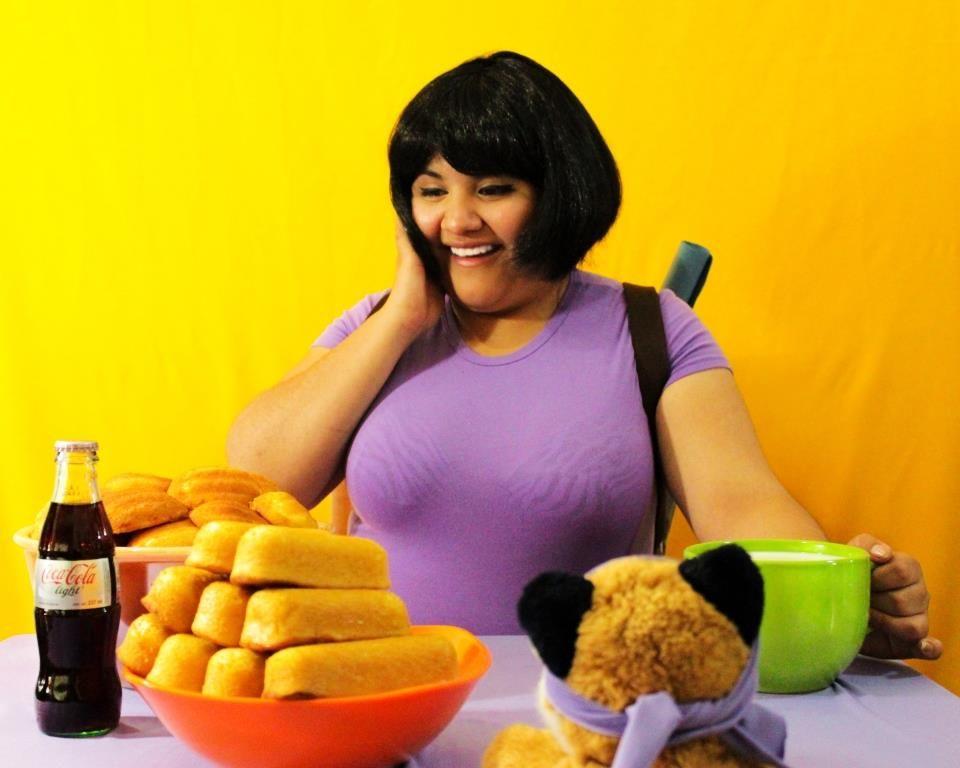 Comer es un placer que hasta los personajes de ficción hallan encantador.