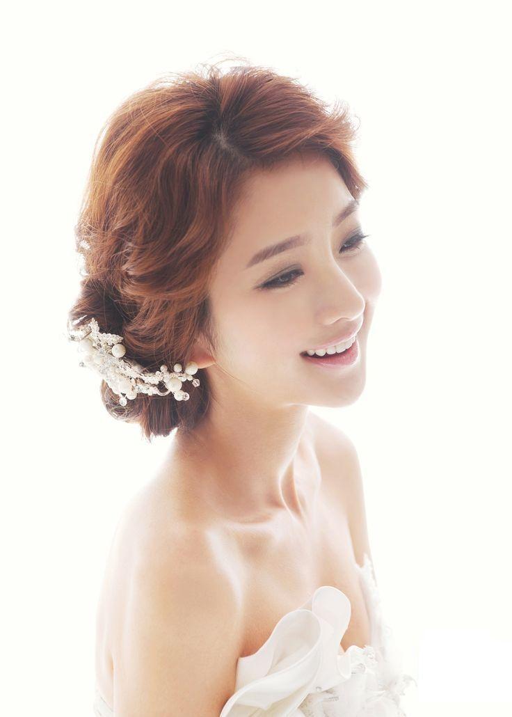 Koreanische Mädchen Top Ten Trendy Hochzeit Frisuren Hochzeit