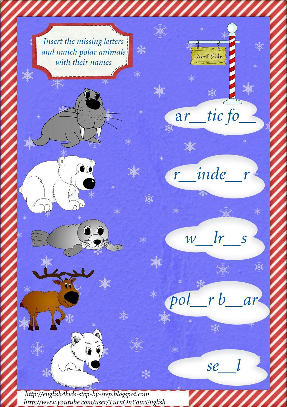 Arctic Animals Song For Children Arctic Animals Kids Songs Polar Animals [ 1415 x 1000 Pixel ]