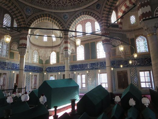 Tombs of the Sultans at Hagia Sophia | Atlas Obscura